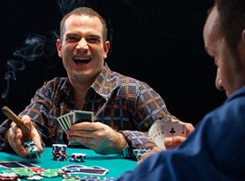Определение соперников в игре покер